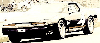 1986 Pontiac Firebird on Ohio Valley track