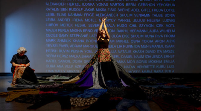 Montreal dancer creates unique vocabulary using symbolic gestures based on the alphabet